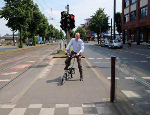 Faltrad und Rheinbahn – eine sinnvolle Kombination
