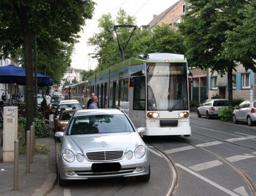 """Warum es absolut richtig ist, dass die Rheinbahn nun auch """"Knöllchen"""" verteilt"""