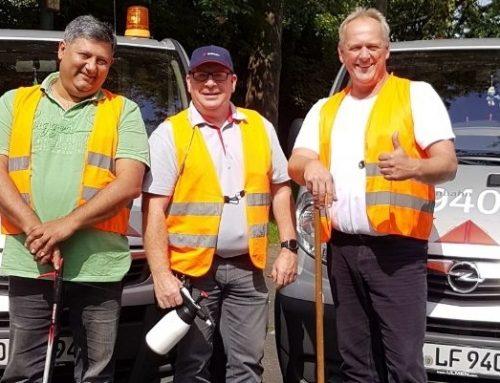 Das ServiceMobil der Rheinbahn: Die Männer für alle Fälle