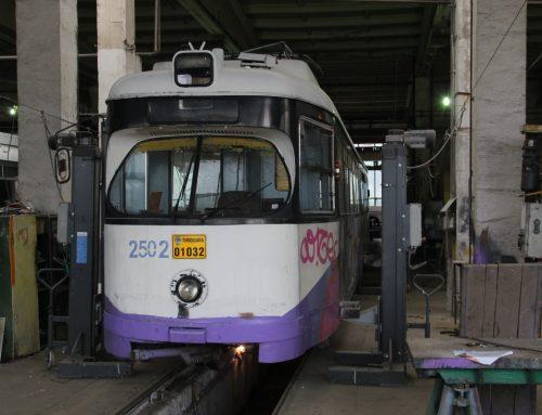 Die Rheinbahn fährt auch in Rumänien
