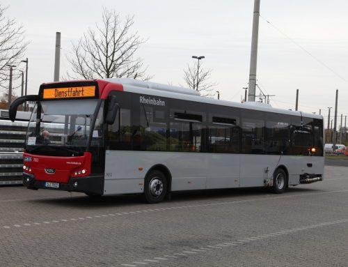 Neue Euro-VI-Busse mit hervorragenden Abgaswerten
