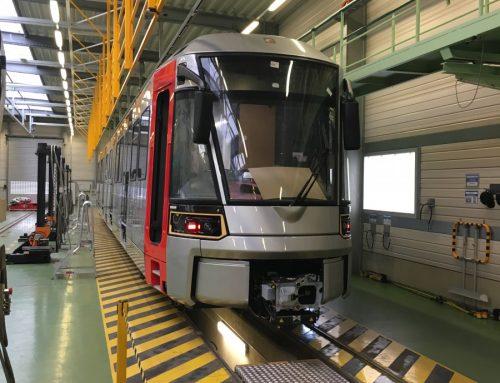 Neue Stadtbahnen für die Rheinbahn
