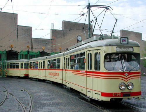 Die historischen Straßenbahnen der Rheinbahn: Zeitreisen möglich gemacht