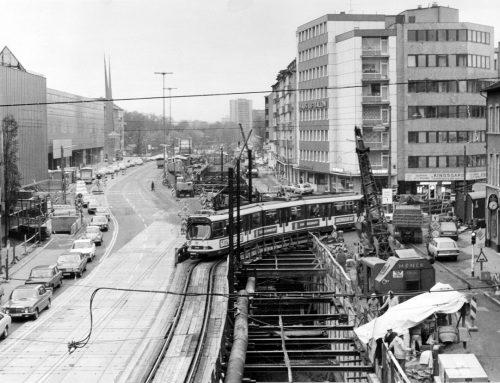 Von der Straßenbahn zur Stadtbahn: 30 Jahre Tunnel