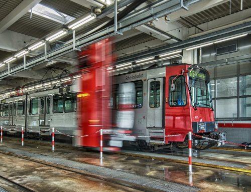 Eine saubere Sache: Die Reinigung der Busse und Bahnen