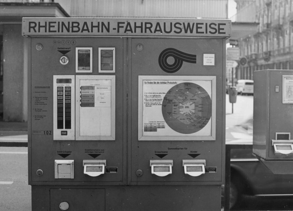 Automaten von damals