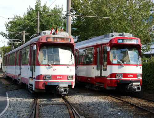 Mit einem halben Kilometer neuer Kabel im Bauch: Bahn 3101 fährt wieder selbstständig