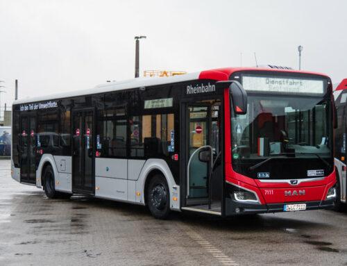 Modernste Technik und viele Vorzüge für Fahrgäste – 92 neue Busse für die Rheinbahn