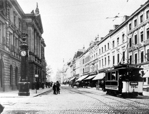 125 Jahre Rheinbahn: Es begann mit einer Pferdestärke