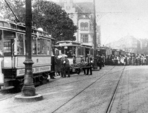 125 Jahre Rheinbahn: Schwere Zeiten im Ersten Weltkrieg