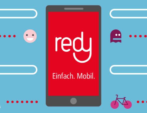 """Einfach. Mobil – Städtetour mit unserer neuen """"redy""""-App"""
